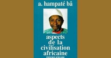 l'Homme Africain avec Dieu