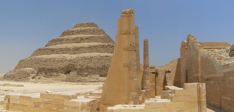 Pyramide à degré d'Imhotep
