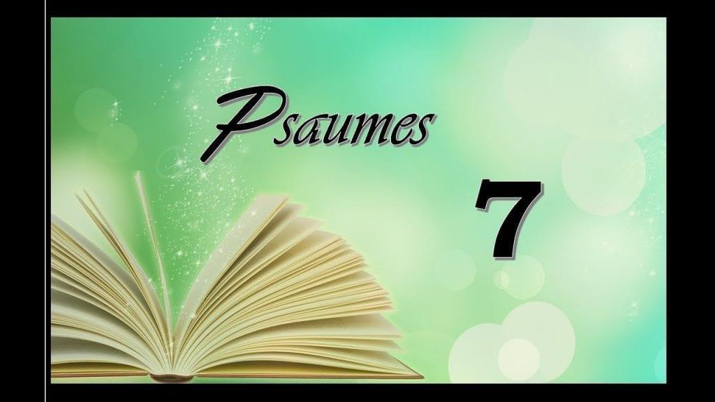 Psaumes 7 de la Bible