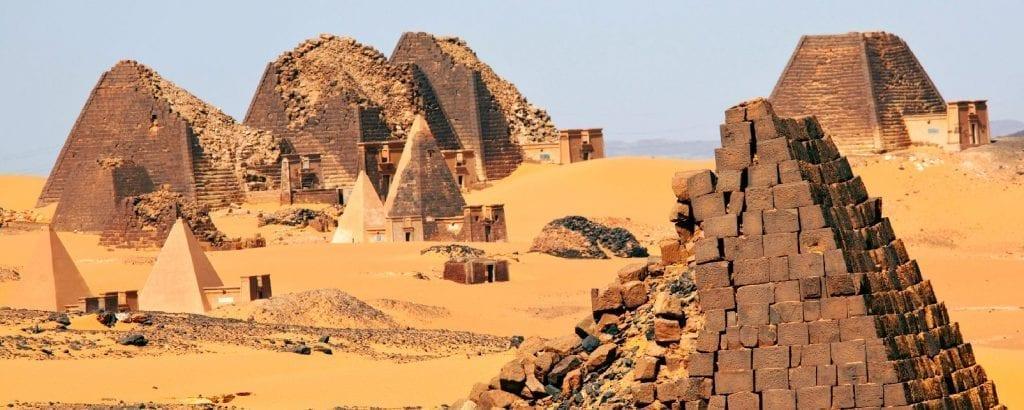 Pyramides du Royaume de Koush