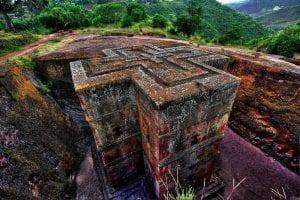 Empire éthiopien - Eglise de Lalibela